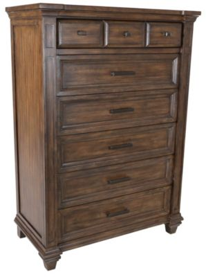 A America Gallatin Chest