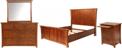 A America Grant Park 4-Piece Queen Bedroom Set