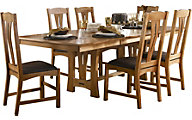 A America Cattail Bungalow 7-Piece Dining Set