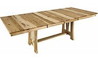 A America Cattail Bungalow Natural Trestle Dining Table