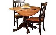 A America British Isles 42 Round Drop-Leaf Table Only