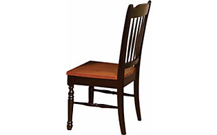 A America British Isles Slat-Back Dining Side Chair