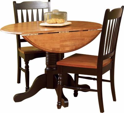 A America British Isles 3-Piece Drop-Leaf Dining Set
