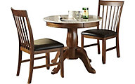 A America Granite Convertible 3-Piece Dining Set