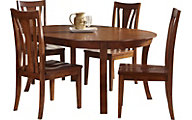 A America Grant Park 5-Piece Round Dining Set