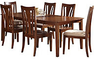 A America Grant Park 7-Piece Transitional Dining Set