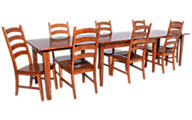 A America Toluca 9-Piece Dining Set