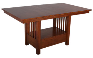 A America Laurelhurst Counter Height Mission Table