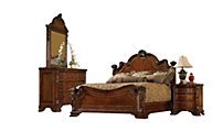 A.R.T. Furniture Old World 4-Piece Queen Bedroom Set