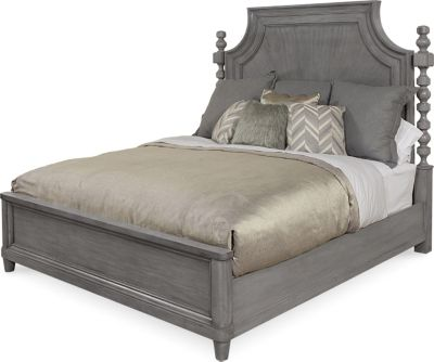 A.R.T. Furniture Morrissey Smoke King Panel Bed