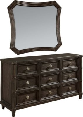 A.R.T. Furniture Morrissey Thistle Dresser with Mirror
