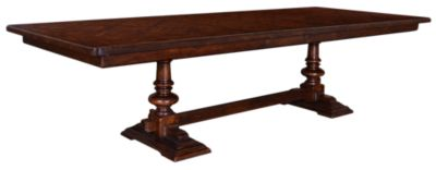 A.R.T. Furniture Whiskey Oak Trestle Table