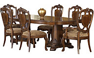 A.R.T. Furniture Old World 7-Piece Dining Set