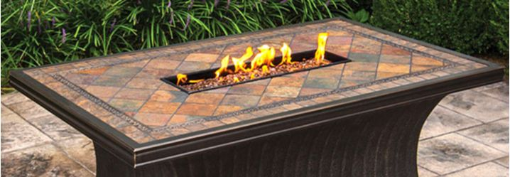 portable, gas and propane fire pits