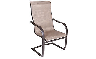 Agio Bellevue Outdoor Sling Dining Chair