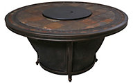 Agio Tempe Round Gas Fire Pit Table