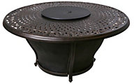 Agio Charleston Gas Fire Pit Table