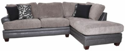 Albany Industries 8642 Granite Right-Side Chaise 2-Piece Sectional