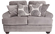 Albany Industries 8642 Smoke Loveseat