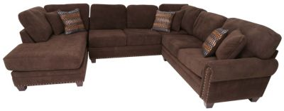 Albany Industries Bingo 3-Piece Left-Side Chaise Sectional