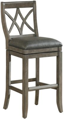 American Heritage Hadley Swivel Counter Stool