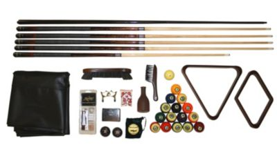 American Heritage Renaissance Billiards Kit with Cover