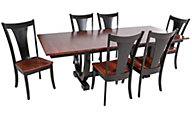 Daniel's Amish Falcon Table & 6 Chairs