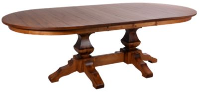 Daniel's Amish Amish Double Pedestal Table