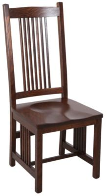 Daniel's Amish Prairie Mission Side Chair