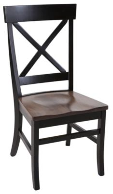 Daniel's Amish X-Back Side Chair