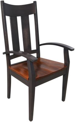 Daniel's Amish Elm Arm Chair