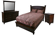 Daniel's Amish Regal 4-Piece Queen Bedroom Set