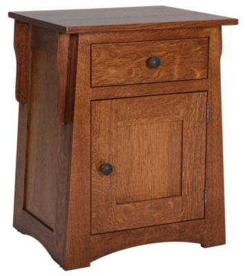 Daniel's Amish Amish Arts & Crafts Nightstand