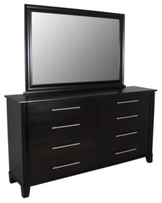 Daniel's Amish Metropolitan Dresser with Mirror