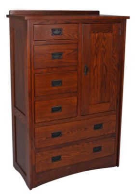 Daniel's Amish New Mission Armoire