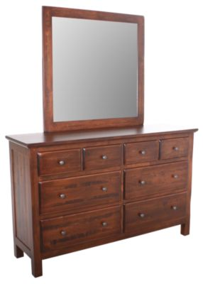 Daniel's Amish Lewiston Dresser with Mirror