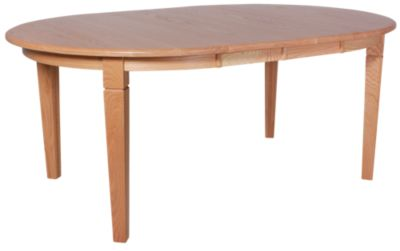 Daniel's Amish Amish Solid Oak Round Leg Table