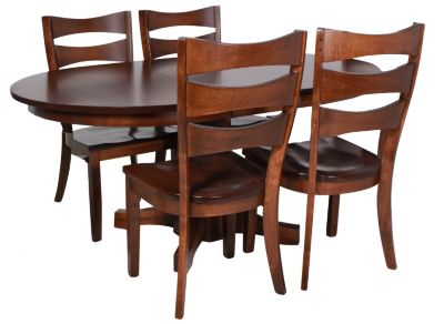 Daniel's Amish Table & 4 Side Chairs