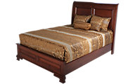 Daniel's Amish Classic Queen Sleigh Bed