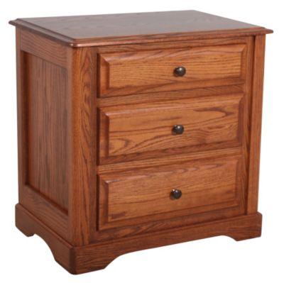 Daniel 39 S Amish Victorian Nightstand Homemakers Furniture