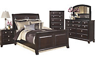 Ashley Ridgley 4-Piece King Sleigh Bedroom Set