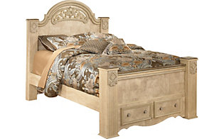 Ashley Saveaha Queen Storage Bed