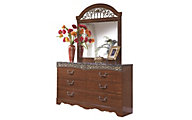 Ashley Fairbrooks Estate Dresser with Mirror