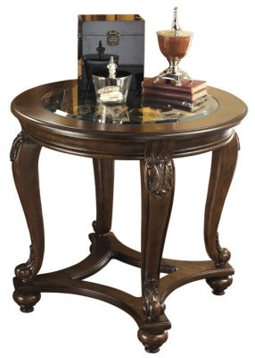 Ashley Norcastle Round End Table Homemakers Furniture