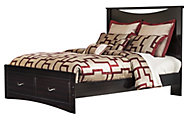 Ashley Zanbury Queen Storage Bed