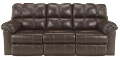 Ashley Kennard Leather Reclining Sofa