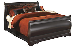 Ashley Huey Vineyard King Sleigh Bed