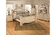 Ashley Saveaha 4-Piece King Bedroom Set