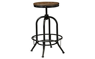 Ashley Pinnadel Swivel Bar Stool