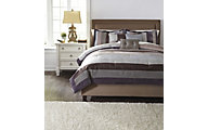 Ashley Kady 6-Piece King Comforter Set